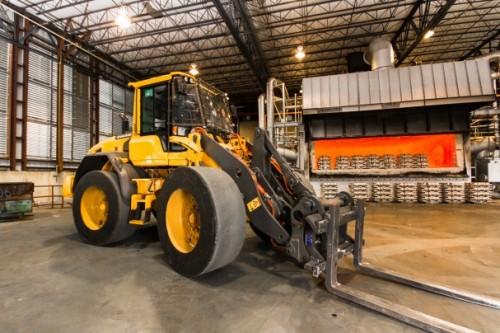 Vulcan New Forklift & Furnace