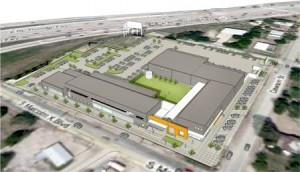 A rendering of CitySquare's Opportunity Center