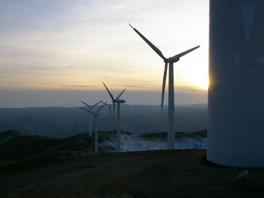 Lime Wind farm consists of six wind turbines, generating an estimated 7,800 megawatt hours/year.