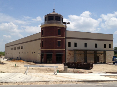 The San Antonio Lighthouse for the Blind nears completion.