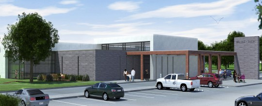 LBU Health Center - Rendering