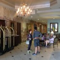The former lobby of the Old No. 77 (at the time, the Ambassador Hotel)