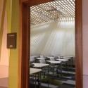 Classrooms now take advantage of the pre-existing skylights, which had been obscured